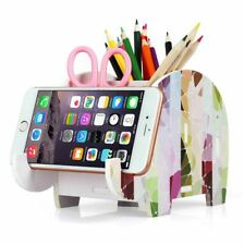 Desk Organizer Set Work Shelf and Accessories Phone Dorm Supplies Sorter Stand