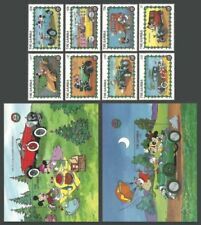 Mint Never Hinged/MNH Disney Gambian Stamps (1965-Now)
