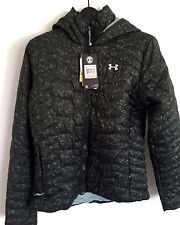 2017 NWT Womens UA Under Armour Reactor Hooded Jacket S Small Green sx432