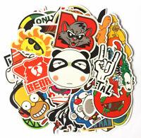 New 50pcs Stickers Skateboard Sticker Graffiti Laptop Luggage Car Decal mix lot