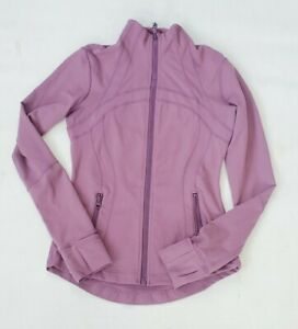 Lululemon Define Jacket Size 6 Plum Purple Dusty Mauve