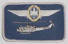 Ricamate patch namemsschild ELICOTTERO BELL uh-1d pilota in oro... a3627