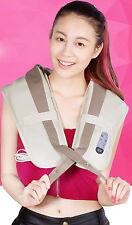 Back&Shoulder Shiatsu Massager Electric Neck Massage Pillow Cushion with Heating