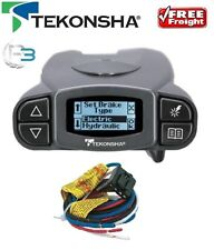 Tekonsha P3 Electric Brake Controller 12v 1-4 Axle Proportional + Wiring Harness