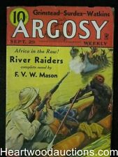 """Argosy"" September 29 1934 A.Merritt, Jimmie Cordie - High Grade"