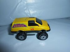 Vtg Hot Wheels Tall Ryder Rocky Mountain Rescue Ranger Ned 1984 Chassis Nice