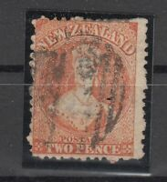 D3055/ NEW ZEALAND – VICTORIA - SG # 141 USED – CV 435 $