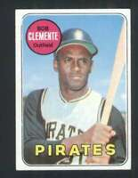 1969 Topps #50 Roberto Clemente EXMT+ Pirates UER 114477