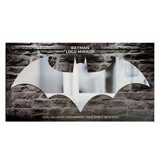Official Batman Arkham Knight Bat Symbol Logo Wall Mirror - Boxed DC Comics Gift