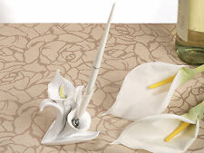 Calla Lily Wedding Pen Set Signatures Sign Floral Themed Flower Reception