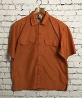 Men's North Face Orange Shirt Size S With Side Netting Vents Outdoor Hiking