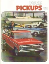FORD 1975 TRUCK Sales Brochure 75 Pick Up