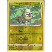 073/202 Yamper   Common Reverse Holo Card Pokemon TCG Sword & Shield (Base Set)