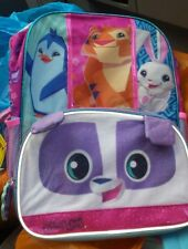 Animal Jam 16 inch Backpack & LUNCH BOX Panda tiger  AI accessory inn  NWT