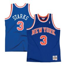 John Starks New York Knicks 1991-92 Road Blue Mitchell & Ness Swingman Jersey
