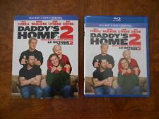 Daddy's Home 2 (Blu-ray  DVD & Digital Copy, 2018) W/ Slipcover