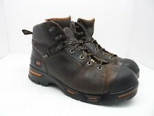 "Timberland PRO Men's 6"" Endurance PR WP 52562 Steel-Toe Work Boots Brown 12W"