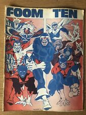 MARVEL COMICS FOOM #10 1975 Condition As In Photos Some Damage To Back Cover