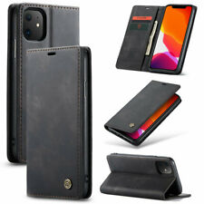 New Magnetic Flip Wallet Case Card Slots Stand Cover for iPhone and Samsung