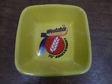 Weetabix 70th Anniversary Bowls (X5)