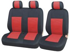 Sitzbezüge Schonbezüge 2+1 Rot Schwarz Neu Hochwertig für VW Toyota