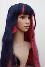 Stocking Dark Purple and Pink COSPLAY Wig 609