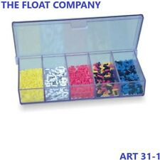 ASSORTED STONFO FLOAT FISHING RUBBERS MIXED BOXES