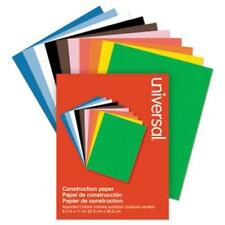 """Universal Office Products UNV20900 Construction Paper, 76 Lb, 9"""" X 12"""","""