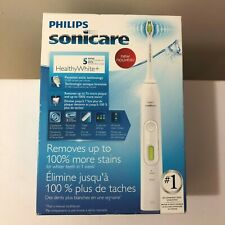 NEW SEALED PHILIPS RECHARGABLE SONICARE 5 SERIES HEALTHY WHITE PLUS HX8911/02