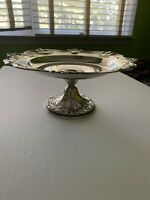 Vintage Chantilly By Gorham Silver Plate #YC1347 Silverplate Compote