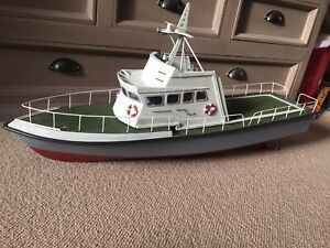 RC Radio Controlled Model Boat Patrol Scratch Built