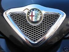 Alu Renngitter für Alfa Romeo 166 Kühlergrill, Tuning Grill Gitter für Scudetto