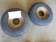 polaris trail boss 250 front rims wheels tires 86 87 88 1986 1987 1988 cyclone