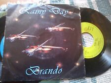 "7"" BRANDO RAINY DAY ITALO DISCO 983 COVER VG+ VINYL EX/EX+"