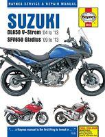 Suzuki DL650 V-Strom & SFV650 Gladius 2004-2013 Haynes Handbook 5643 NEW