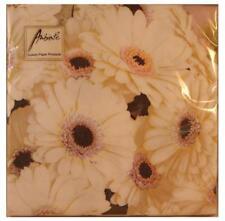 tovaglioli, tovaglioli, 3 pieghe carta, fiori bianchi (20)