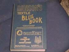 Davison's Textile Blue Book , 124th ed. 1990