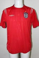 UMBRO ANGLETERRE MAILLOT DE FOOT L 42 44 ROUGE