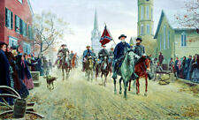 Mort Kunstler Lee at Fredricksburg Limited Edition Civil War Print S/N