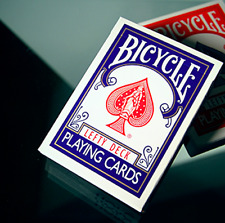 Lefty Deck (Blue) by House of Playing Cards from Murphy's Magic