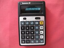"Vintage Rare PANASONIC 1201 CALCULATOR ""Green LED"" Made in JAPAN"