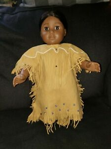 American Girl Doll Kaya, Pleasant Company Original Dress & Moccasins