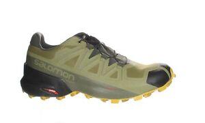 Salomon Mens Speedcross 5 Martini Olive/Peat/Arrowwood Hiking Shoes Size 9.5