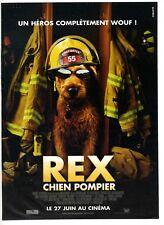 Une publicité pour Film cinéma – Rex chien pompier des années 2000