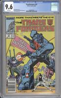 Marvel Comics TRANSFORMERS #32 CGC 9.6 NM (1987) White Pages