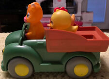 Kids Toy Truck John Deere Learn Farm Friends For Young Toddlers Missing 1 VG!!