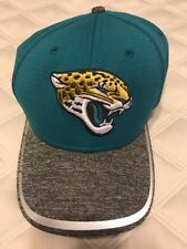 New Era Jacksonville Jaguars Teal 39Thirty Fitted Hat XLarge XXLarge XL/XXL
