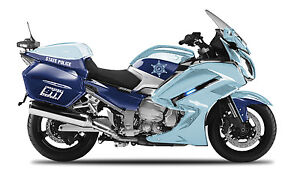 Yamaha FJR1300A State Police, Maisto Moto Modèle 1:18, Neuf, Emballage