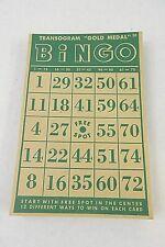 Lot Of 50 Vtg Bingo Cards 30 Pcs Unbranded & 20 Pcs Transogram Gold Medal