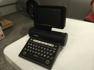 1990 The Pocket Electrodex by Rolodex. It does need a new Battery.